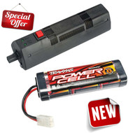 Traxxas 6-Cell 7.2V 1800mAh NiMH Battery w/ Complete EZ-Start 2 Control Box