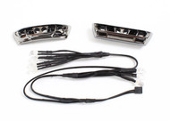 Traxxas TRA7186 - LED lights, light harness (4 clear, 4 red)/ bumpers, front & rear/ wire ties (3) (requires power supply #7286)