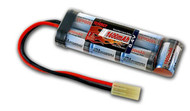 New Tenergy 8.4V 1600mAh Flat NiMH Airsoft Battery Pack w/ Mini Tamiya Connector