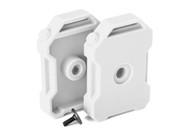 Traxxas 8022X Fuel Canisters White (2) 3x8 FCS (1) : TRX-4 / Tactical