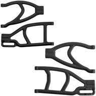 New RPM Rear Right / Left Extended A-Arms (Black) : Traxxas Revo, E-Revo, Summit