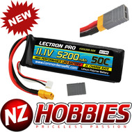 Lectron Pro 11.1V 5200mAh 50C Lipo Battery with XT60 Connector + CSRC adapter for XT60 batteries to Traxxas® vehicles