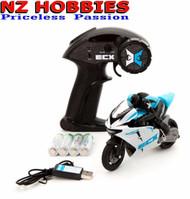 Electrix ECX01004T1 Outburst Motorcycle RTR, Blue 1/14 Scale