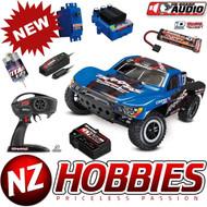 Traxxas 58034-2 1/10 Slash Pro 2WD Short Course Truck Blue #1 RTR w/OBA/TQ/iD