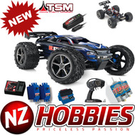 Traxxas 56036-4 - E-Revo: 1/10 Scale 4WD Electric Racing Monster Truck with TQi Traxxas Link Enabled 2.4GHz Radio System & Traxxas Stability Management