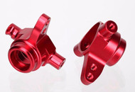 Traxxas 6837R Aluminum Steering Block Red Stampede 4X4 / Rally VXL / Slash 4X4