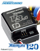 Hobbywing XERUN 120A V3.1-1S ESC Brushless Speed Control (Black) 1/10 , 1/12