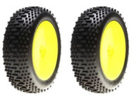 Losi LOSB1889 MINI 8IGHT Front Mini King Pin Mounted Tires / Wheels (2 PCS)