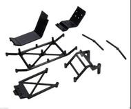 Latest Losi Front/Rear Ladder/Skid Set Mini Highroller # LOSB1067
