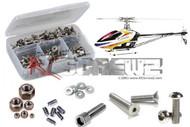 RC Screwz ALG030 Stainless Steel Screw Kit Align 700e F3C V2