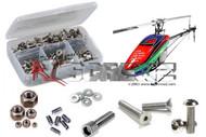 RC Screwz ALG034 Stainless Steel Screw Kit Align 700N DFC