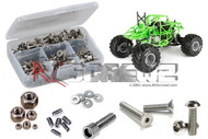 RC Screwz AXI024 - Axial SMT Grave Digger MT Stainless Screw Kit