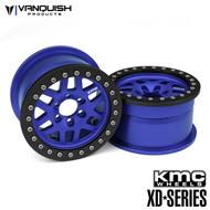 Vanquish Products VPS07733 KMC 1.9 XD229 MACHETE BLUE ANODIZED