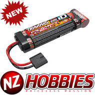 Traxxas 2923X 3000mAh 8.4V 7-cell flat NiMH Battery w/ iD Connector : E-Maxx Brushless