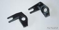 SSD SSD00066 Pro Aluminum Knuckles Axial SCX10 Black 1:10 RC Cars Crawler