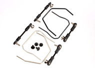 Traxxas  6898 Sway Bar Kit (Front and Rear) : 1/10 Slash 4x4 Stampede 4x4 & Rally