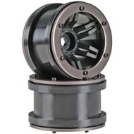 Axial AX8091 Rocksters 2.2 Beadlock Wheel Black (2)