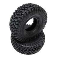 Pit Bull Growler AT / Extra 2.2 Tires w/ Pap Kompound (2) Rock Crawler Wraith