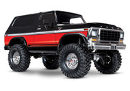 Traxxas TRA82046-4 Ford Bronco RED/BLACK : 4WD Electric Truck w/ TQi Traxxas Link Enabled 2.4GHz Radio System