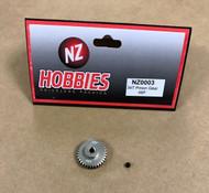 NZHOBBIES 48DP / 48P 34T Aluminum Pinion Gear 48-Pitch 34-Tooth # NZ0003