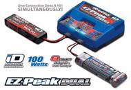Traxxas-8amp-EZ-Peak-Plus-100W-Dual-Battery-Charger-2S-3S-LiPo-5-8-Cell-NiMH