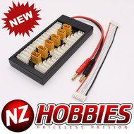 NZHOBBIES Parallel Charging Board for Lipos with XT60 Connectors XH # NZ0099