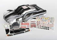 Traxxas 6811X - Body, Slash 4X4, ProGraphix (Graphics are printed, requires paint & final color application)/ decal sheet