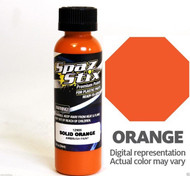 New Spaz Stix SZX12900 SOLID ORANGE Airbrush Paint : R/C Lexan Body - 2oz