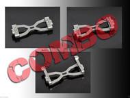 HeliOption HPAT600C01 Trex 600E Pro Frame Mounting Block Combo Set
