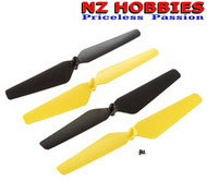 New Dromida DIDE1113 Propeller Set Ominus Quadcopter Yellow And Black (Props)