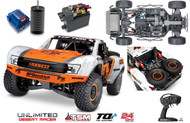 Traxxas 85076-4 Unlimited Desert Racer : 4WD Electric Race Truck w/ TQi Traxxas Link Enabled 2.4GHz Radio System