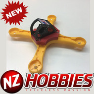 OX ROGUE 215-X Frame Only for Free Style / Racing FPV Drones : Yellow / Red