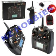 Spektrum DX6 6-Channel DSMX Transmitter w/ AR610 Receiver w/ FREE BAG # SPM6700