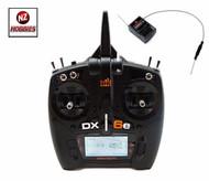 SPEKTRUM 2.4GHZ DX6e DSMX 6-Ch Transmitter w/ AR610 Receiver- HELI BLADE