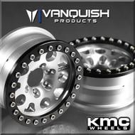 Vanquish VPS06942 KMC Enduro XD222 1.9 Wheels Clear Anodized (2)