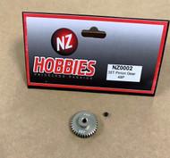NZHOBBIES 48DP / 48P 35T Aluminum Pinion Gear 48-Pitch 35-Tooth # NZ0002