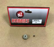 NZHOBBIES 48DP / 48P 23T Aluminum Pinion Gear 48-Pitch 23-Tooth # NZ0014