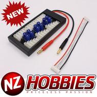 NZHOBBIES Parallel Charging Board for Lipos w/ EC3 Connectors # NZ0095
