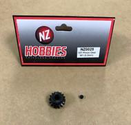 NZHOBBIES Mod 1 16T Alloy Steel Pinion Gear 5MM Bore M1 16 Tooth # NZ0025