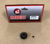 NZHOBBIES Mod 1 18T Alloy Steel Pinion Gear 5MM Bore M1 18 Tooth # NZ0023