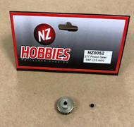 NZHOBBIES 64DP / 64P 37T Aluminum Pinion Gear 3mm Shaft 64-Pitch 37-Tooth