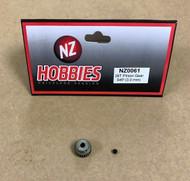 NZHOBBIES 64DP / 64P 28T Aluminum Pinion Gear 3mm Shaft 64-Pitch 28-Tooth