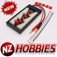 NZHOBBIES Parallel Charging Board for Lipos with Deans-type Connectors # NZ0101