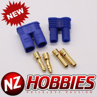 NZHOBBIES EC2 Connectors - (1) Male, (1) Female # NZ0111