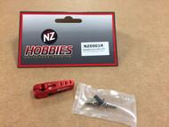 NZHOBBIES NZ0001R Aluminum Servo Horn 25T (Red) Axial, Futaba & Savox Servos