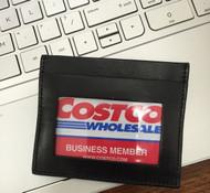 Men's Genuine Leather Thin Wallet ID Money Credit Card Slim Holder Front Pocket