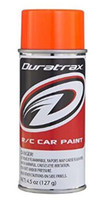 Duratrax DTXR4278 PC278 Polycarb Spray Fluorescent Orange Spray RC Bodies 4.5 oz