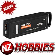 Yuneec YUNQ4K130 5400mAh 3S 11.1V LiPo Battery : Typhoon Q500, 4K, G