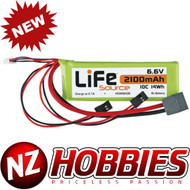 Hobbico LiFeSource HCAM6437 LiFe 6.6V 2100mAh 10C Receiver U
