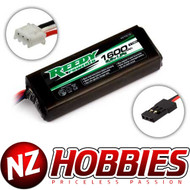 Associated ASC27315 Reedy LiFe Pro 6.6V 1600mAh Flat Tx/Rx Battery